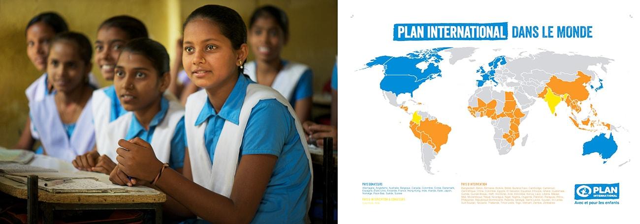 La démarche solidaire de Plan International