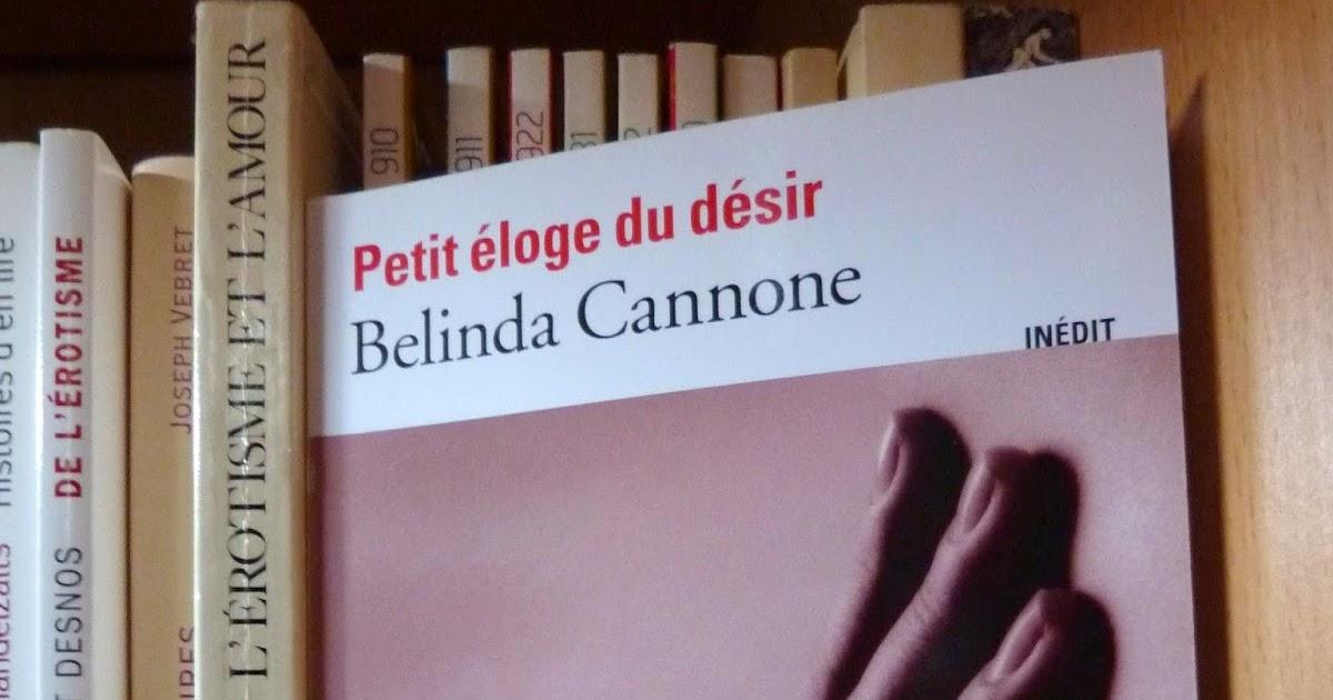 Livre Petit Eloge du désir, Belinda Cannone