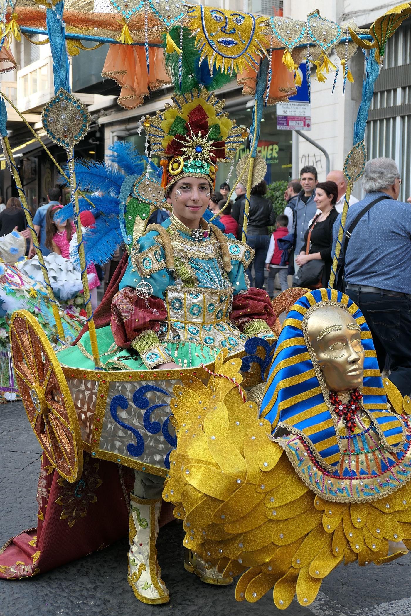 Carnaval des fleurs-Acireale- Crédit Numero Une