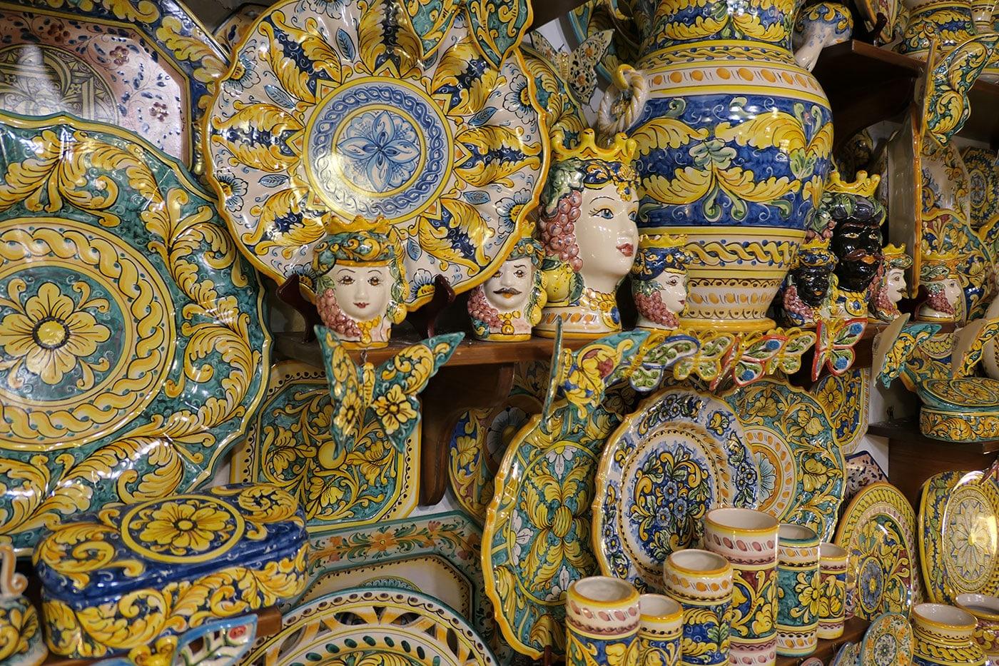 Inspiration Sicile-Ceramique-Crédit Numéro Une