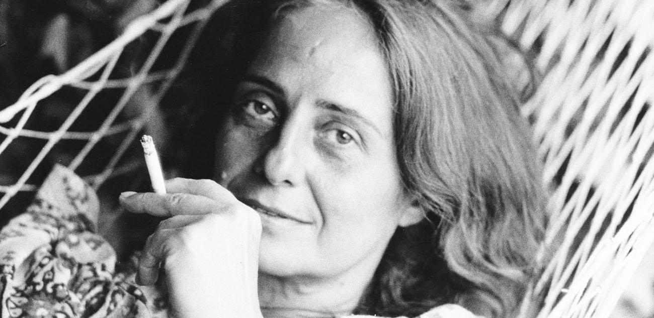 Photo Goliarda Sapienza en noir et blanc