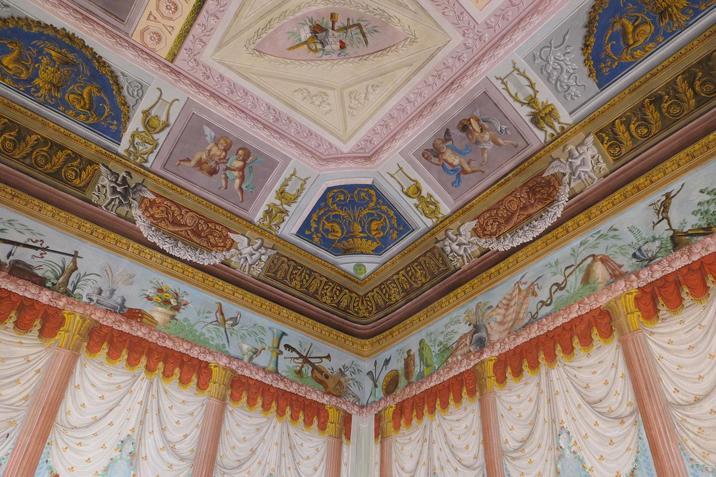 Plafond Palazzo Nicolaci di Villadorata-Noto-Crédit Numéro Une