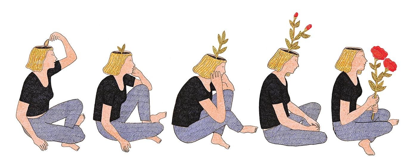Procrastination - Illustration de Marion Fayolle