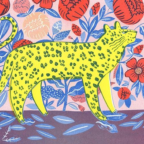 Illustration Leopard de Agathe Singer