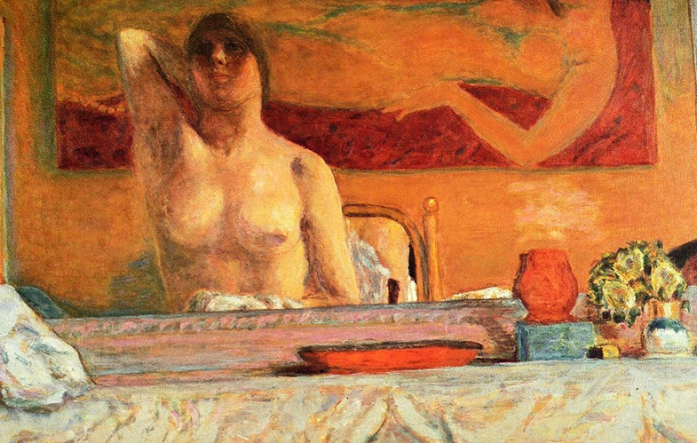 The fireplace, 1917-Pierre Bonnard