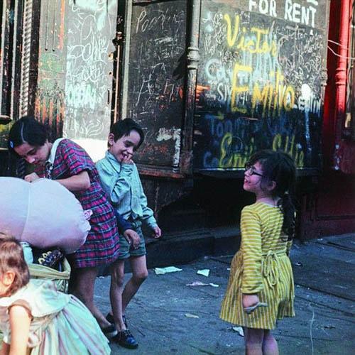 Enfants dans la rue, Crédit Helen Levitt