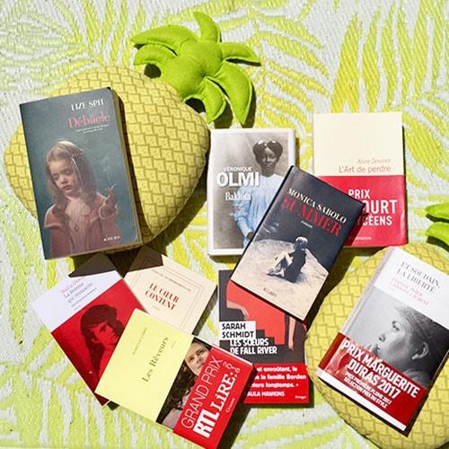 selection livres été par Numéro Une