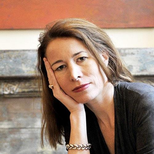 Portrait Anne Dufourmantelle via Madame Figaro