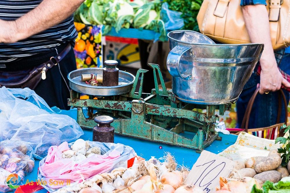 Photo marché, Dubrovnik -DR