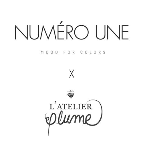 Logos Numéro Une et L'Atelier Plume