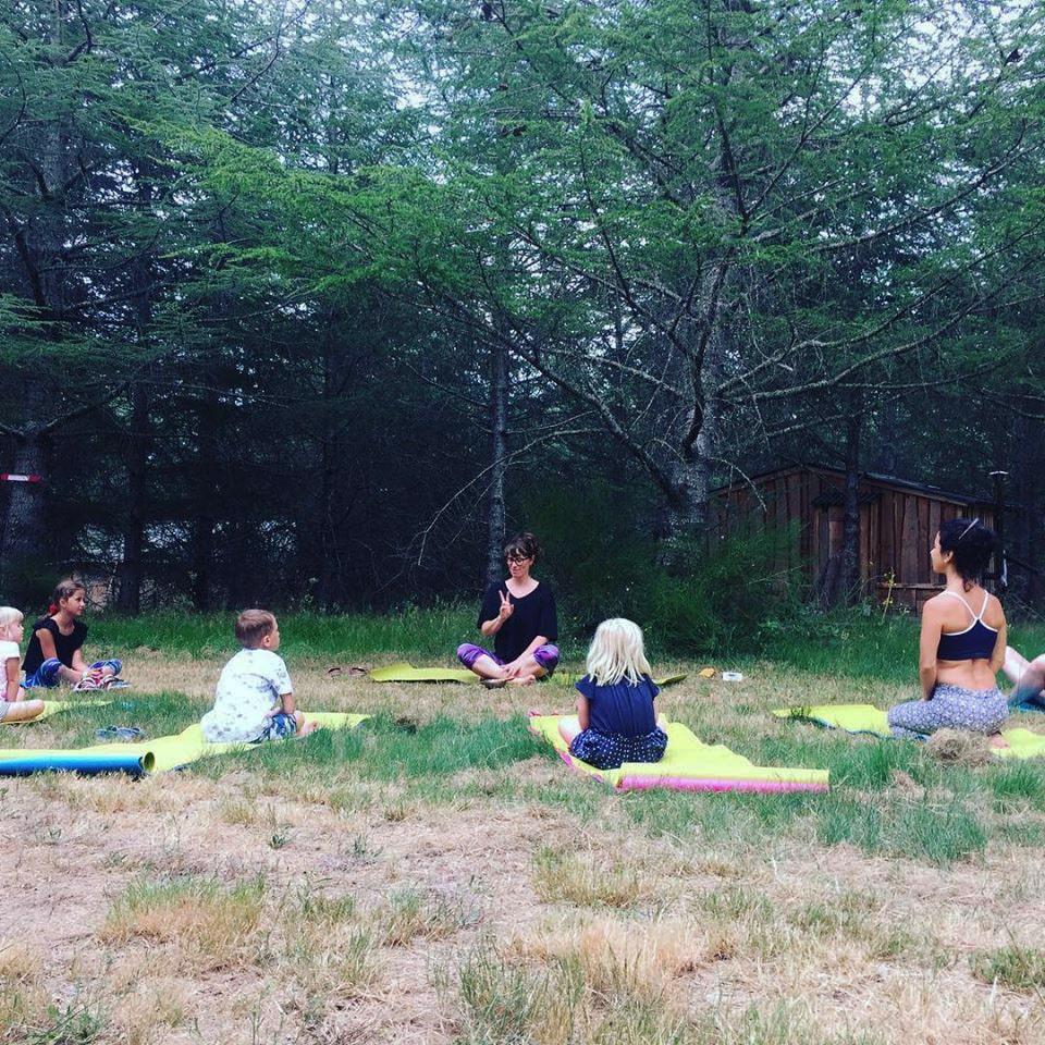 Domaine de la Vitarelle - Yoga enfants