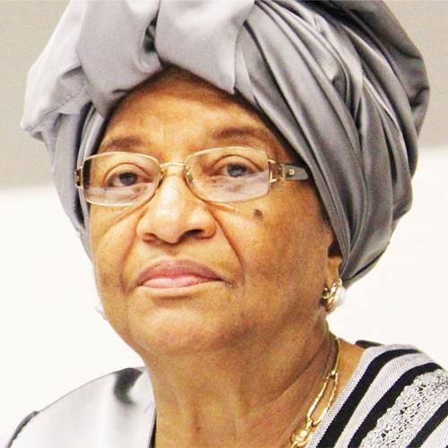 Portrait Ellen Johnson Sirleaf