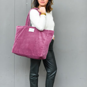 sac en velours Rose Boudoir
