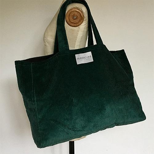 sac numéro une vert sauvage